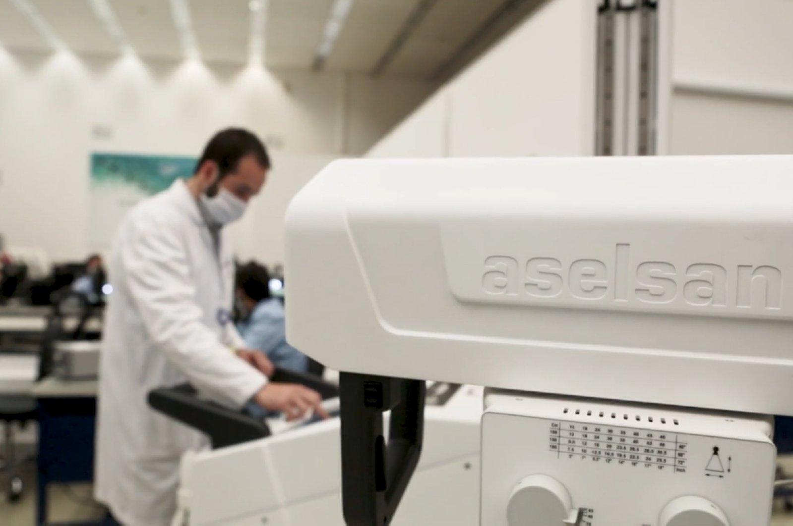 土耳其领先国防工业公司ASELSAN的移动数字X射线设备获得CE标记