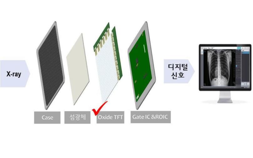 LG Display公司开发用于数字X射线探测器的新型薄膜晶体管