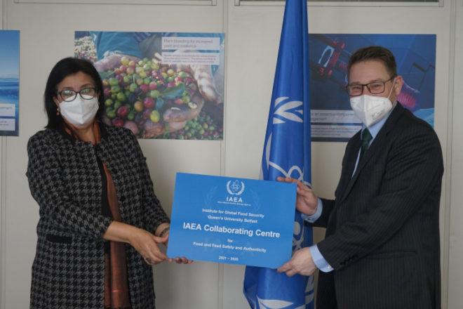 IAEA选择全球食品研究所来支持食品安全性和真实性研究