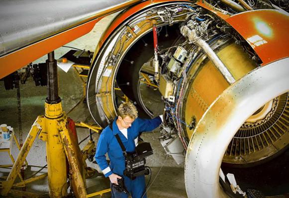 奥林巴斯工业内窥镜点睛之测 航空发动机无损检测升级