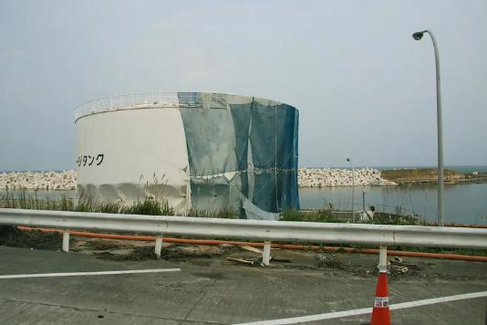 福岛核电站有再次爆炸风险 百万吨污水将无处存放