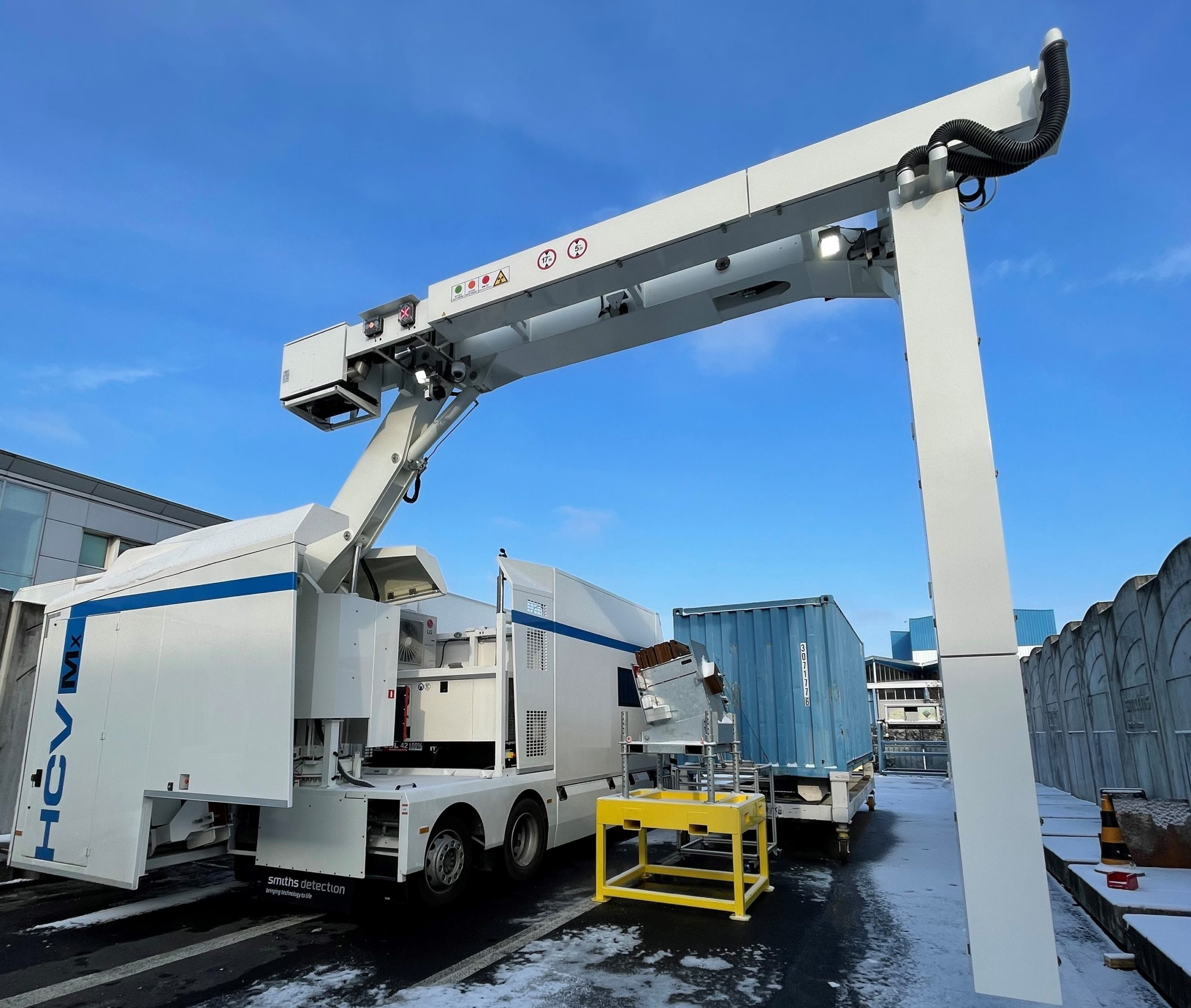 Smiths Detection在卢森堡为北约提供车辆扫描技术