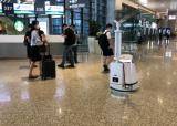 乌兰浩特机场给摆渡车安装车载紫外线消毒灯