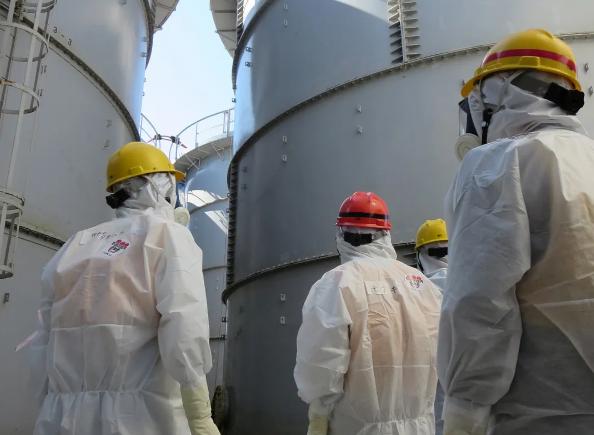 日本政府早上召开内阁会议 正式决定将福岛核污水排入大海