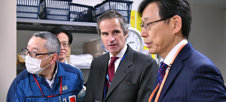 国际原子能机构将针对福岛核电站核废水排放与日本密切合作