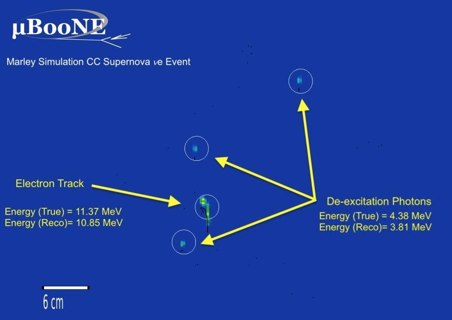 模拟超新星中氩原子核与中微子之间的碰撞