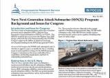 美国会研究局提交关于下一代攻击核潜艇的报告