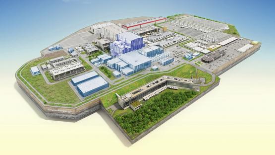 <p>ITER:世界上最大的核聚变实验</p>