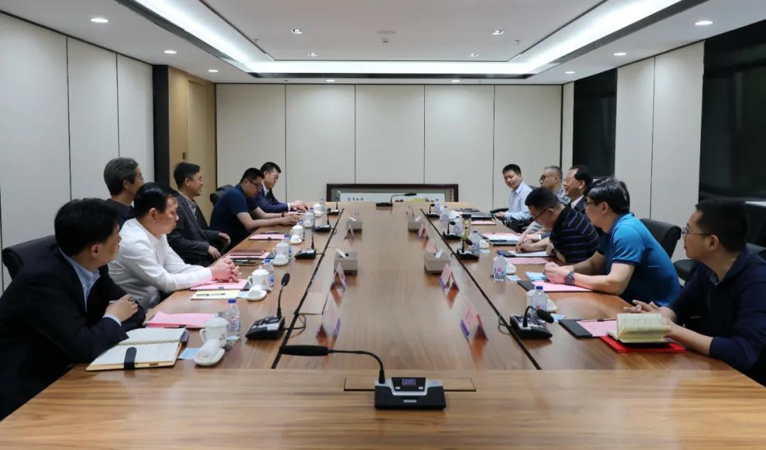中核环保与南华大学在中核宾馆座谈交流