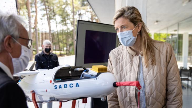 <p>比利时研发用于辐射监测的无人机</p>