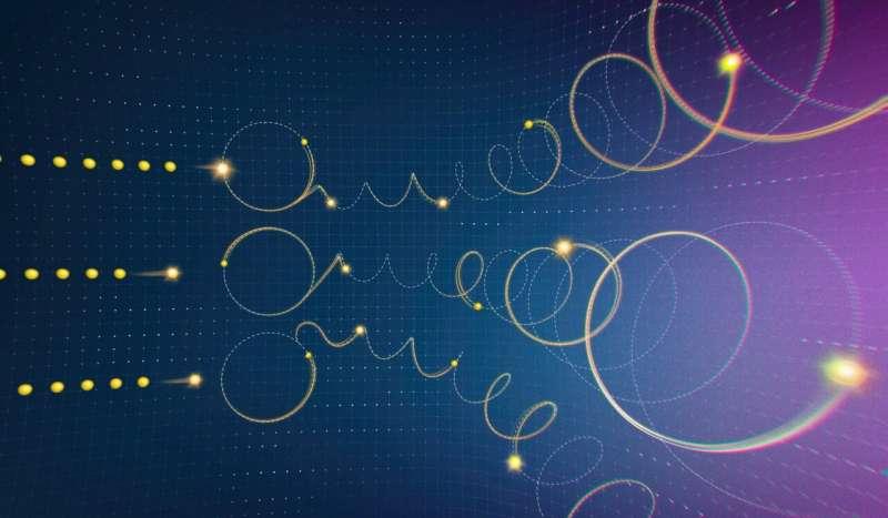 <p>等待时机的电子:新模型解释了3D量子材料</p>