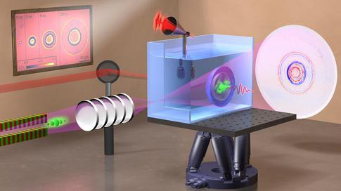 水中激光诱导气泡和冲击波的X射线闪光成像